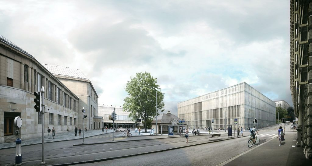 Kunsthaus_Zuerich_unverbindliches_Rendering_© David Chipperfield Architects